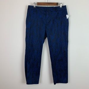 Coldwater creek size 10 NWT fab fronds ankle pant